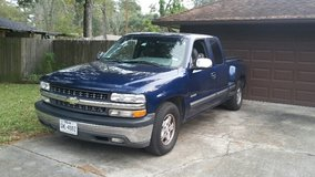 2000 Chevy Silverado LT 1500 Extended Cab Mileage: 137,524 in Kingwood, Texas