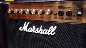 Marshall Electric Guitar Combo Amp w/ Spring Reverb MG15CDR in Joliet, Illinois