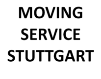Moving Service Stuttgart - Easy - Fast - Reliable in Stuttgart, GE