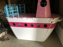 Barbie boat and accessories in Roseville, California
