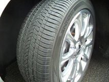"""17"""" Polished Alloy Rims & A/S Tires in Ramstein, Germany"""