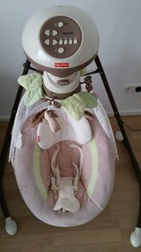 Fisher-Price Snugabunny Cradle 'N Swing with Smart Swing Technology in Stuttgart, GE