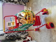 Kids Grocery Shopping Cart with Food in Bartlett, Illinois
