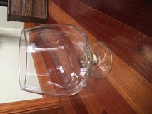 Large glass stemmed bowl in Plainfield, Illinois