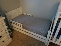 Toddler bed with drawer and mattress in Travis AFB, California