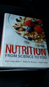 Allied health nutrition book for OTC in San Antonio, Texas