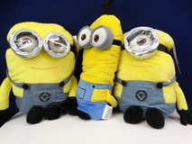 (3) Despicable Me Pillow Plushes in Alvin, Texas