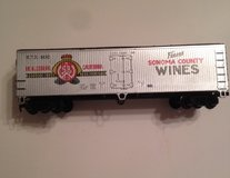 Vintage HO-Scale Finest Wines Train Car in Lockport, Illinois