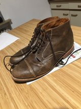 men's boots 11.5 brown leather in Ramstein, Germany