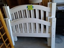 White Wood Bunk Beds #2315-1 in Camp Lejeune, North Carolina