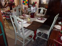 Table and Four Chairs in Fort Riley, Kansas