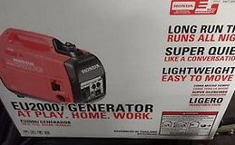 Honda Generator EU2000is Brand new in box in Naperville, Illinois
