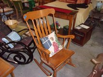 Pine Wood Rocking Chair in Fort Riley, Kansas