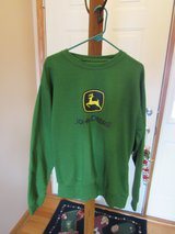 John Deere Crew Sweatshirt NWT~Reduced in Sandwich, Illinois