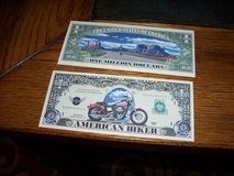 American biker fake bills in Fairfield, California