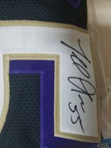Signed Terrell Suggs Jersey. Does come with Certificate of Authenticity. in Camp Lejeune, North Carolina