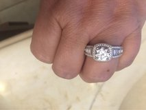 Jeulia engagement ring size 12 in Spring, Texas