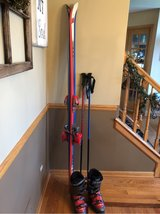 Men's ski equipment in Chicago, Illinois
