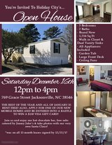 OPEN HOUSE! FREE FOOD & HOT DRINKS! in Camp Lejeune, North Carolina