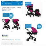 Urbini Omni Plus Travel System (Used) in Hinesville, Georgia