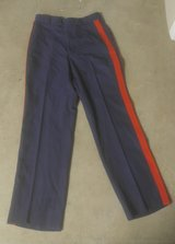 Dress Blue Trousers in Camp Pendleton, California