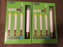LED Lighted Candle Sticks NEW in Kingwood, Texas