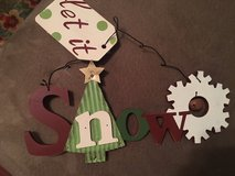 Wooden Christmas Sign- NEW in Kingwood, Texas