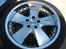19inch rims and tires set(6) in Okinawa, Japan