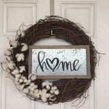 Cotton Wreath in Beaufort, South Carolina