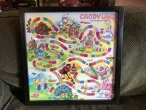 Framed Candy Land Game Board in Cochran, Georgia