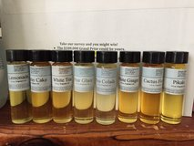 Scented oils in 29 Palms, California