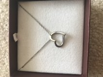 Necklace-Heart- silver in Naperville, Illinois