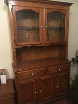 Solid Oak china cabinet/hutch NEED GONE!!!! in Temecula, California