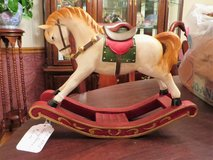 Wooden Rocking Horse in Lockport, Illinois