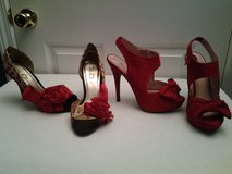 Red Bow Ladies Shoes (price each) in Eglin AFB, Florida