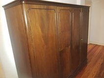Antique Large Mahogany Shrunk in Wiesbaden, GE