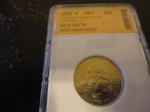 2005p MN  statehood quarter  interested text 931 218 8243 in Fort Campbell, Kentucky