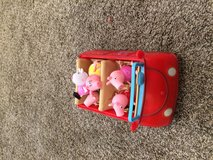 Peppa pig car and figures in Joliet, Illinois
