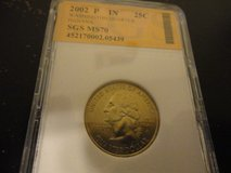 2002 p IN  statehood quarter  interested text 931 218 8243 in Fort Campbell, Kentucky