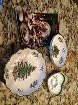 Spode Christmas Tree candy dishes in Pleasant View, Tennessee
