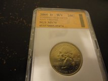 2005 d WV  statehood quarter  interested text 931 218 8243 in Fort Campbell, Kentucky