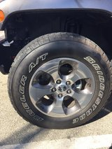 2016 Jeep Wrangler Tires and Rims (5) in Camp Pendleton, California