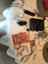 wii system with accessories in Beaufort, South Carolina