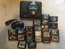 Sega Genesis with 23 games in Fort Leonard Wood, Missouri