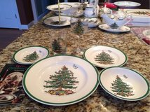Spode Christmas Tree place setting in Pleasant View, Tennessee