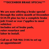 DECEMBER BREAK SPECIAL! in Camp Pendleton, California