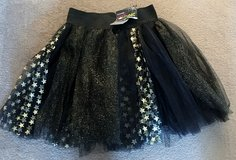 CHILD KIDS BLACK & GOLD & STARS TUTU, NWT in Lakenheath, UK