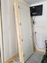"3'-0"" X 8'-0"" X 1-3/8 Pre-Hung Hollow Core Moulded Interior Door w/ casing  (ONE LT HAND - ONE R... in Kingwood, Texas"
