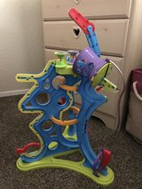 Magnetic toy tower in Travis AFB, California