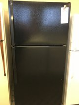 GE Black 18 cf Refrigerator - USED in Fort Lewis, Washington